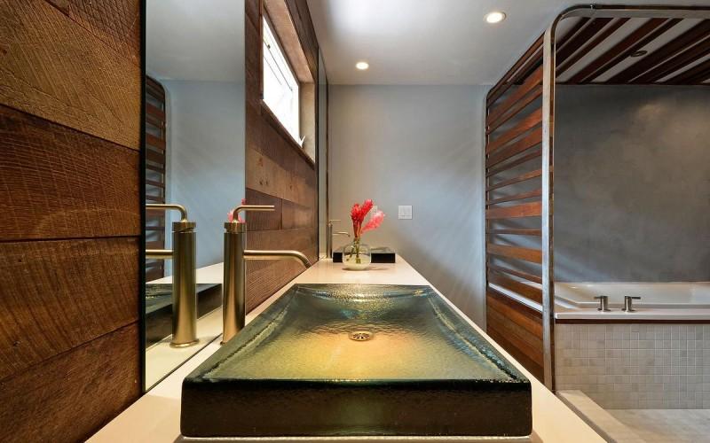 Оформление ванной комнаты от студии дизайна gTb