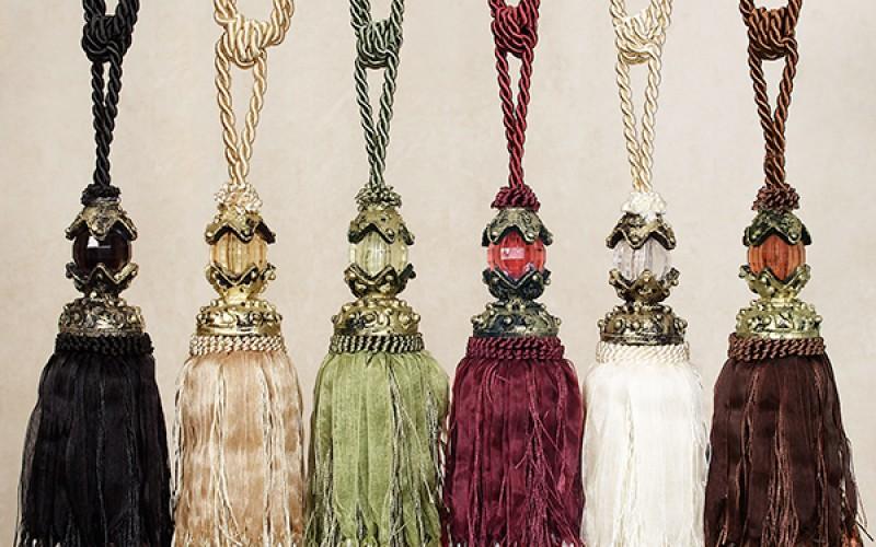 15 декоративных кисточек для штор