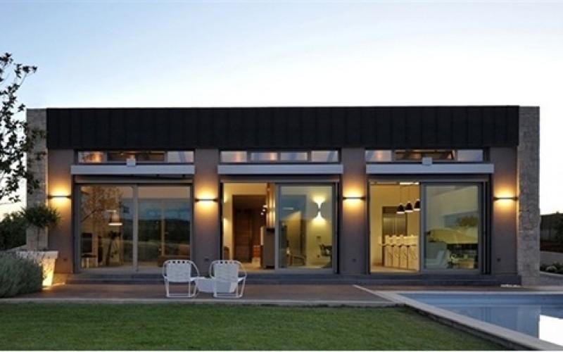 Архитектура в Фиве Дом в Калифорнии
