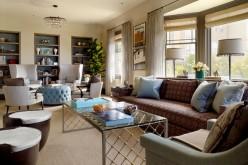 17 идей для длинной гостиной