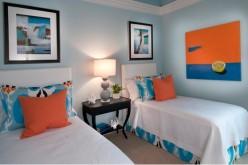 20 спален с двумя односпальными кроватями
