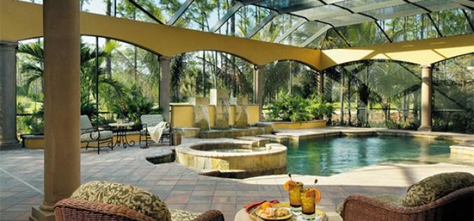 15 павильонов для бассейнов, для круглогодичного пользования бассейном