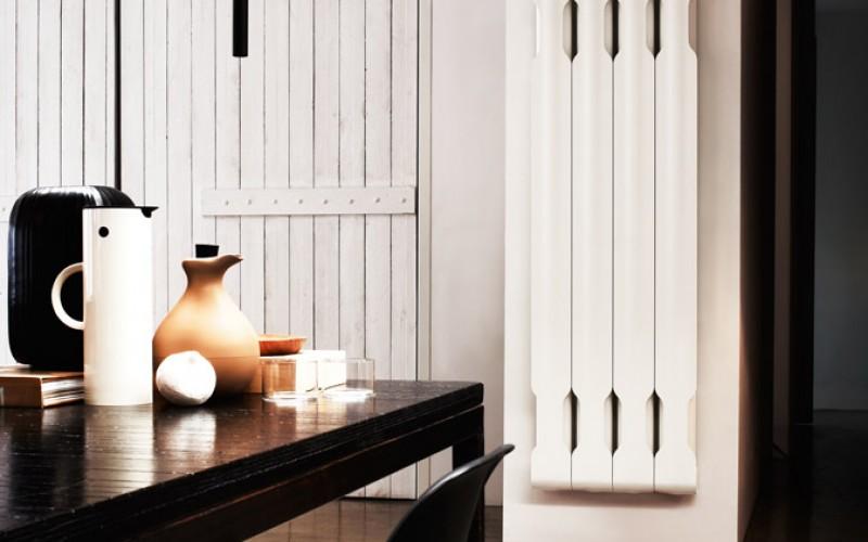 Гладкий алюминиевые радиаторы для современного образа жизни: Коллекция Agorà