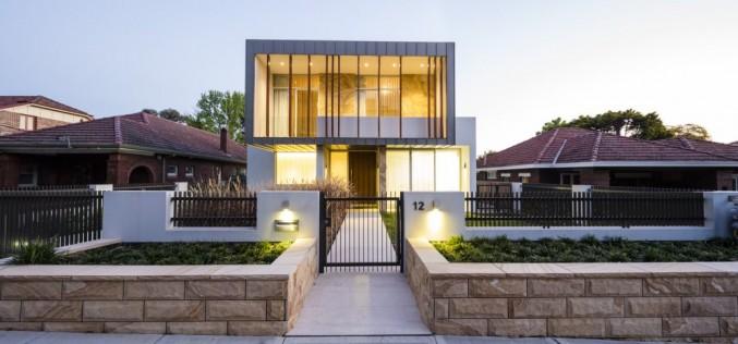 Box House в Сиднее, Австралия.