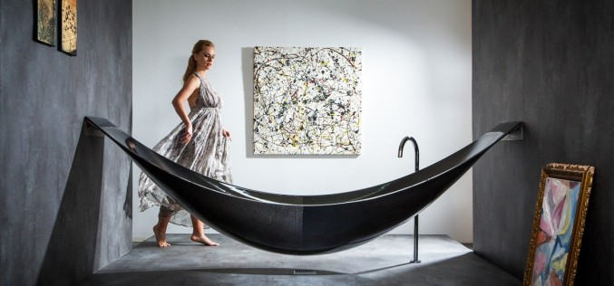 Искусство релаксации: ванна и гамак КОМБИНИРО