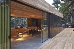 Архитектор Педро Ласаро разработал Casa Кор, приложение к дому, расположенный в Белу-Оризонти, Бразилия.
