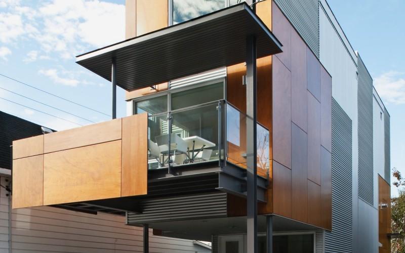 Двухквартирный дом в Оттаве, Канада.