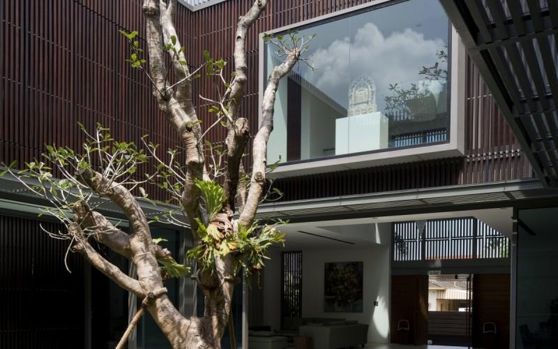 Дом на дереве в Сингапуре