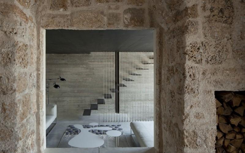 Ре-дизайн в исторической резиденции в Старом Яффо,  Тель-Авив, Израиль.
