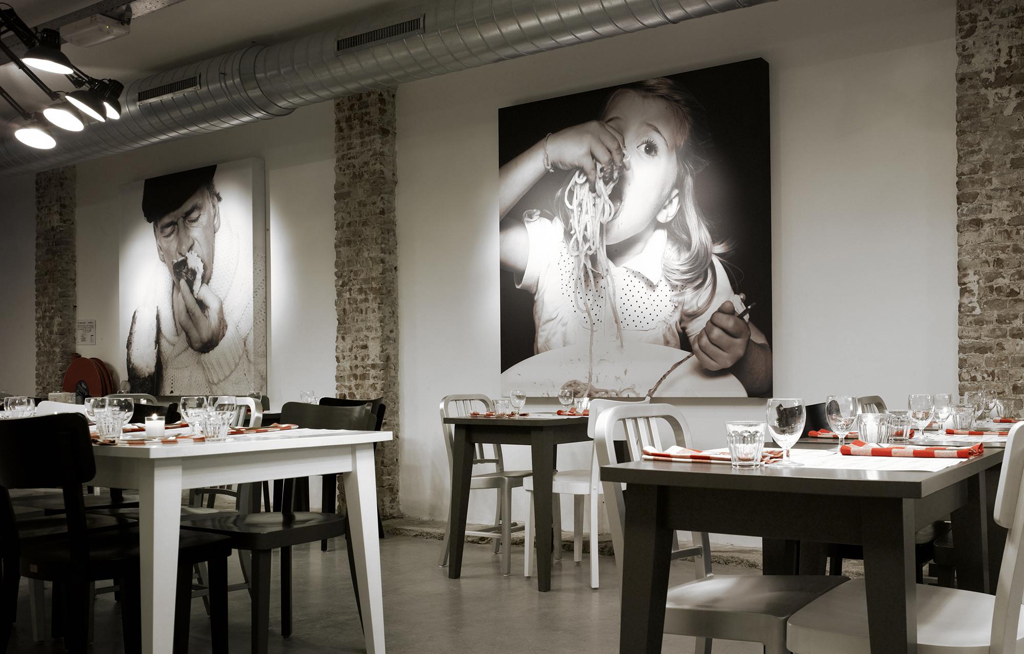 Дизайн кафе стены