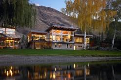 River House, расположенный на реке Колумбия в Вашингтоне.
