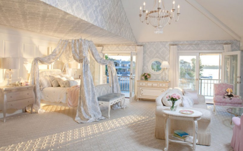 40 потрясающих спален и декоративные кровати с балдахином