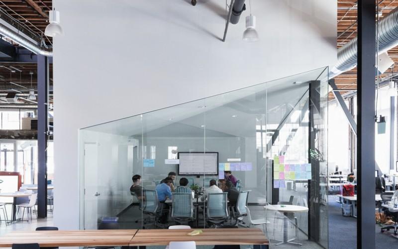 Pinterest's новый креативный офис в San Francisco