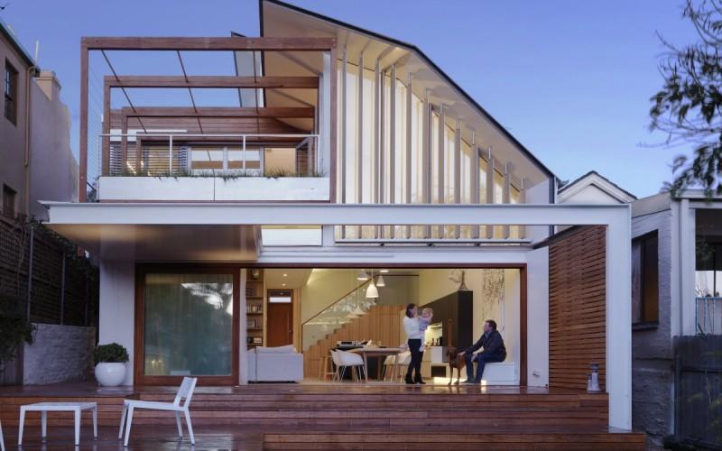Дом в Уэверли, пригороде Сиднея, Австралия.