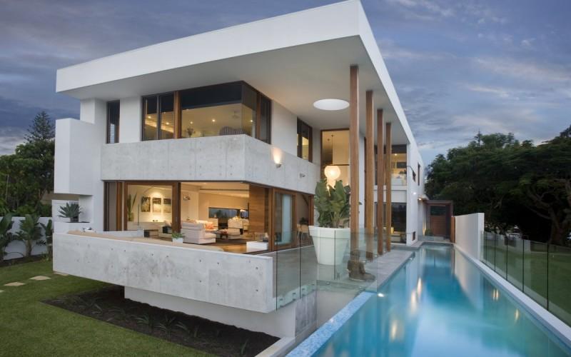 Residence Амальфи Drive в Квинсленде, Австралия.