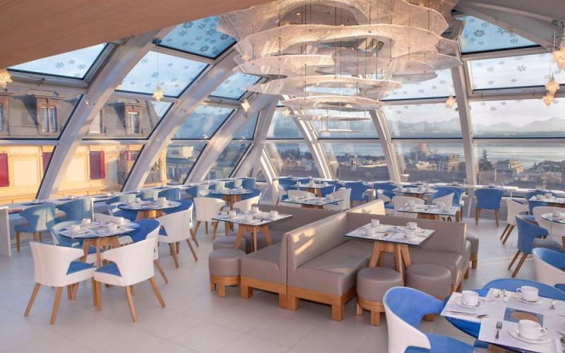 Agora Swiss Night отель  в Лозанне, Швейцария.