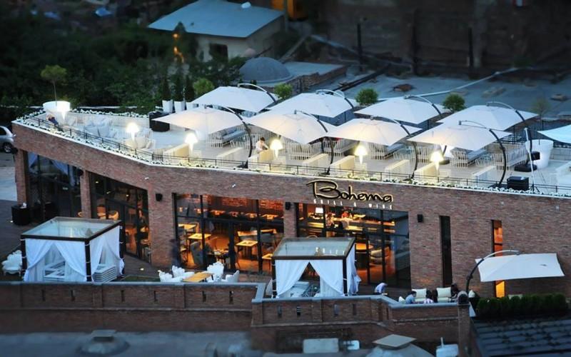DesignBureau разработали Богема ресторан  в Тбилиси, Грузия.
