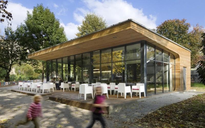 Coffee House в Нове Место-над-Вагом, Словакия.