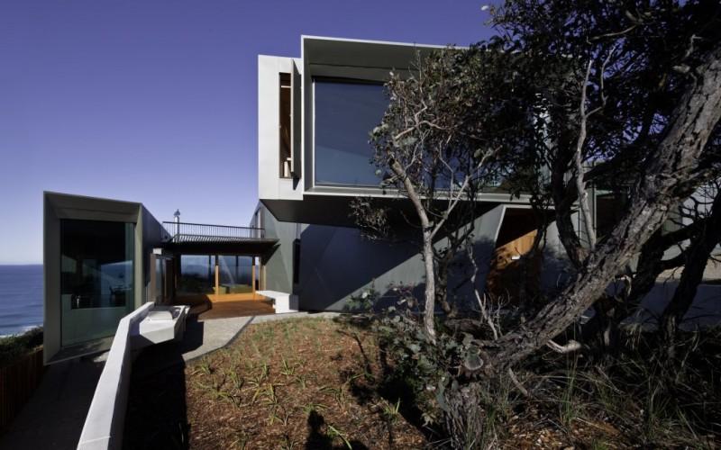 Резиденция над Great Ocean Road в Виктории, Австралия.