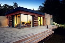 Дом, расположенный в Нью-Форест Национальный парк, Великобритания.