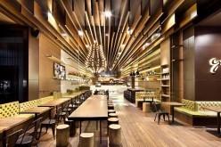 Ресторан GAGA в Шэньчжэнь, Китай.
