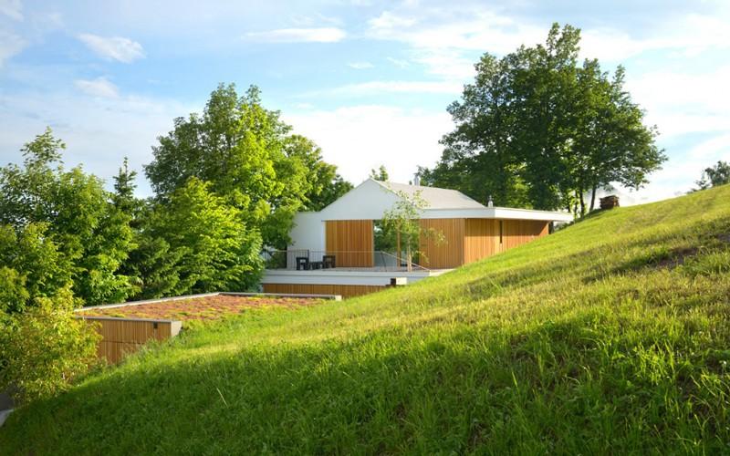 Современный дом для семьи в Словении