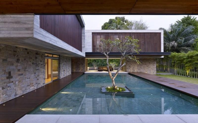 Дом в Букит Тима, Сингапур.