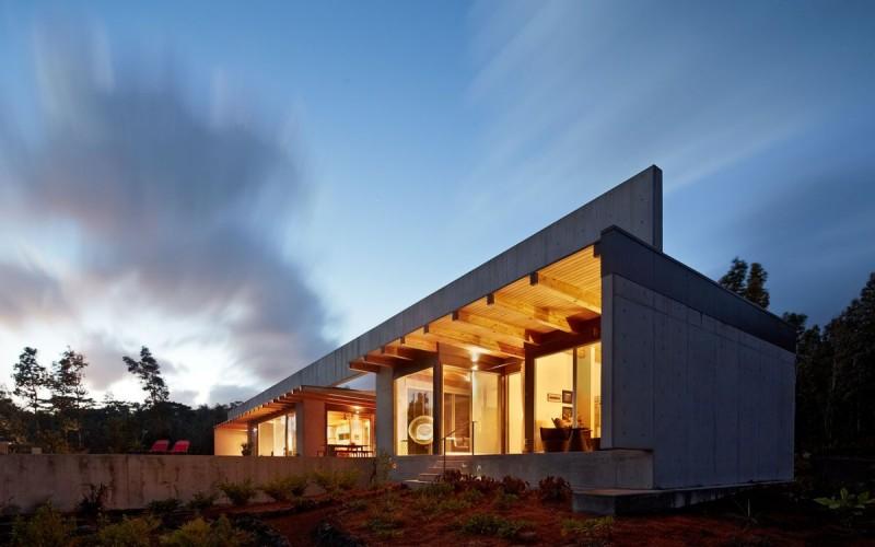 Lavaflow 7, дом на Большом Острове Гавайев.