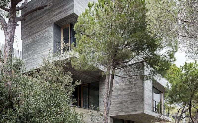 Дом, расположенный в  Сан-Поль-де-Мар, Испания.