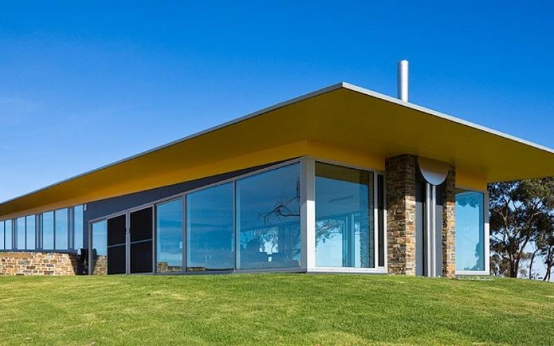 Дом, расположенный в долине Баросса, Австралия.