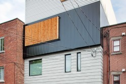 Дом расположен в Монреале, Канада.