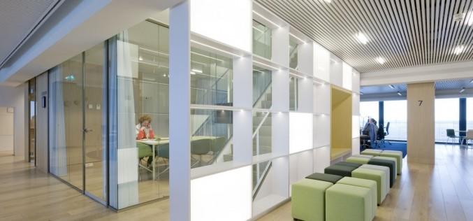 Офисы для NS станций в Утрехте, Нидерланды.