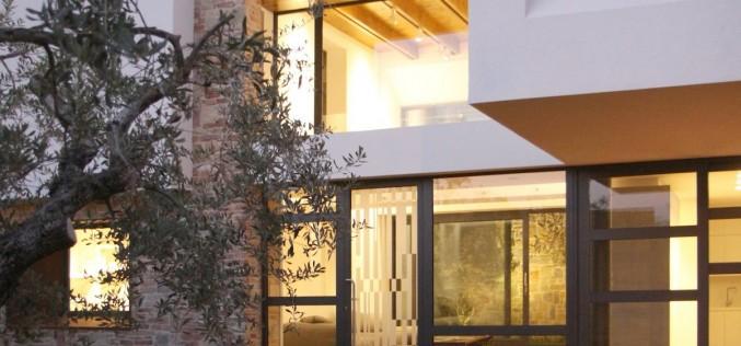 Paeco дом в Кастель ди Лама, Италия.