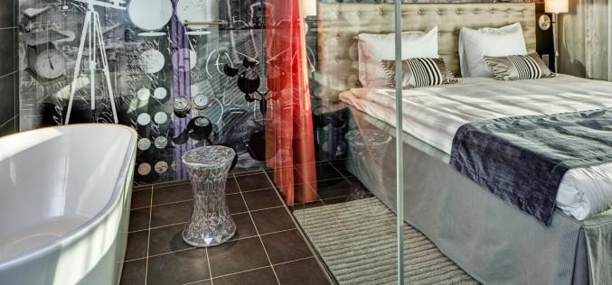 Интерьеры Radisson Blu Riverside Hotel в  Гетеборге, Швеция.