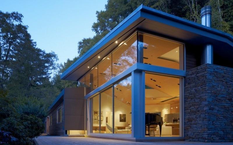 Резиденция в Росс, Калифорния.