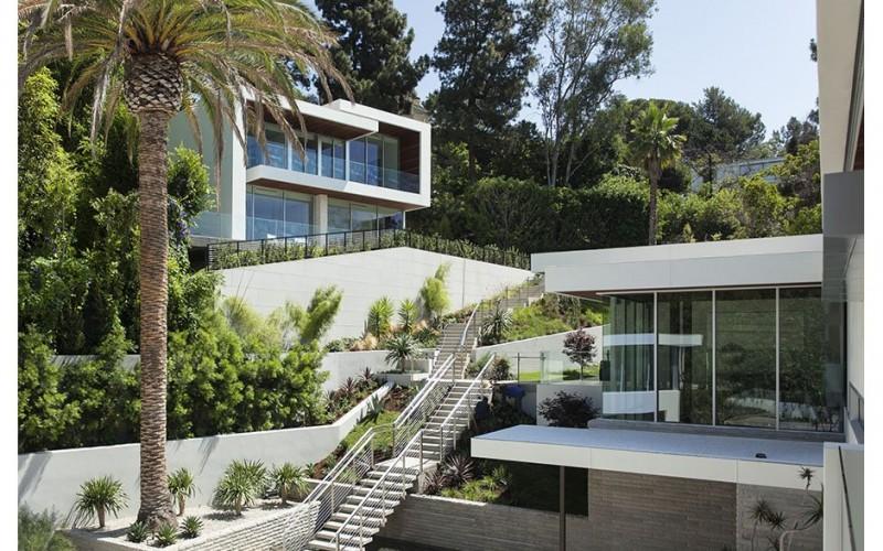 Дом   расположенный в Западном Голливуде, Калифорния