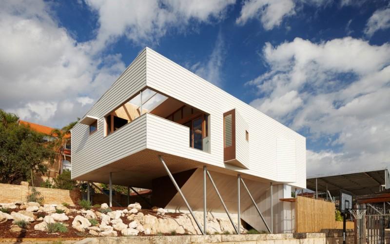 домик на пляже в городе Перт, Австралия.