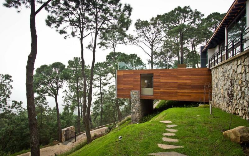 Лесной дом расположен в Mazamitla, Мексика.