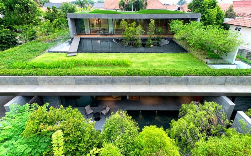 Сингапурский дом