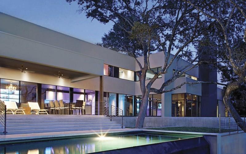 Резиденция  в Остине, штат Техас.
