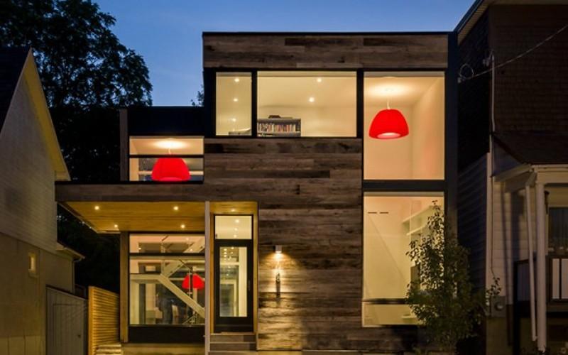 Дом расположенный в Оттаве, Канада.
