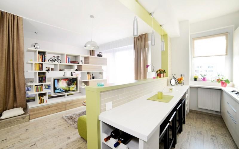Дизайн квартиры 40 м 2 квадратных
