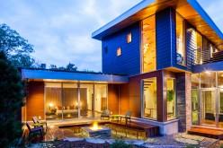 Современная резиденция с видом на озеро Мичиган: М-22 Дом