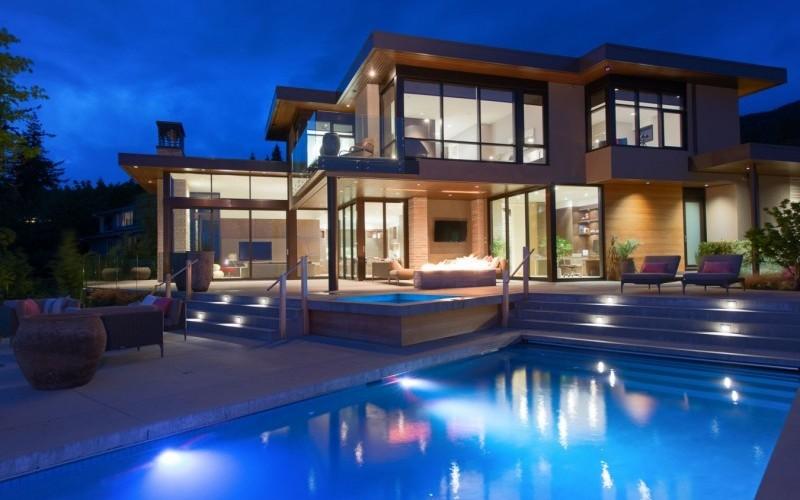 Резиденция внутри и снаружи