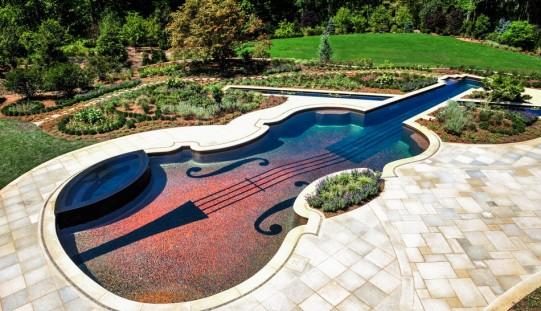 Ослепительный Бассейн реплика 18-го века скрипка Страдивари