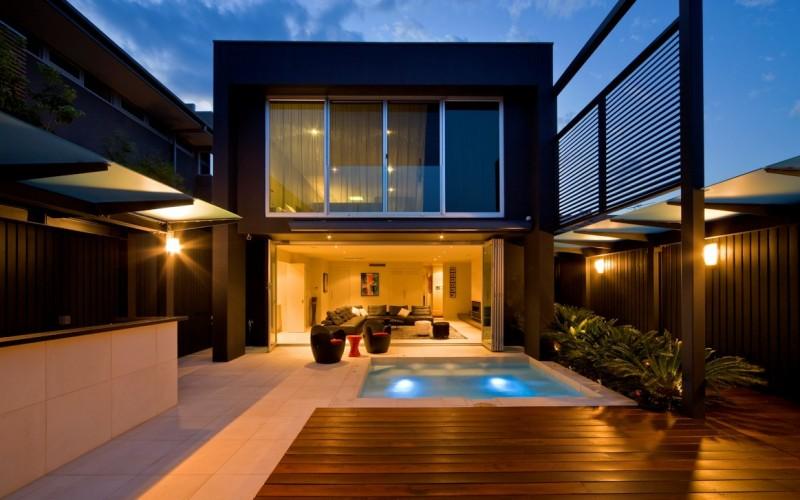 Esplanade Дом в Брайтоне, пригороде Мельбурна, Австралия.