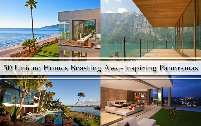 50 уникальных дома с панорамами