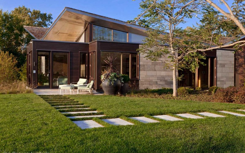 Illinois Residence by Dirk Denison Architects