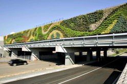 North America's Largest Living Wall by Green Over Grey