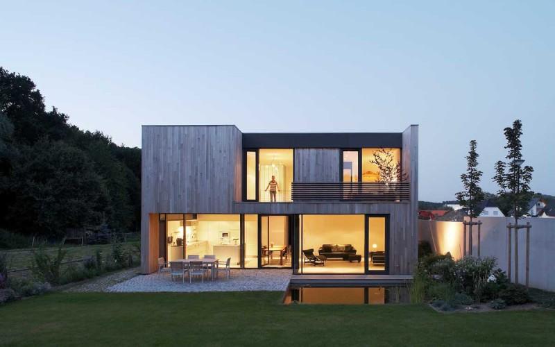 Houses B1   B2 by Zamel Krug Architekten